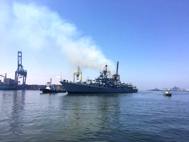 Indian Naval ships visit Egypt