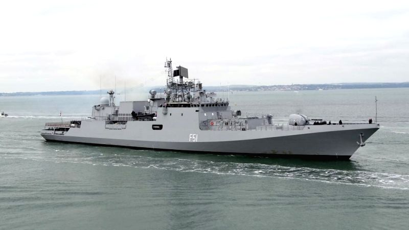 Indian Navy participate in Multi Nation drill