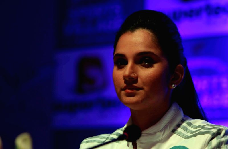 Indian professional tennis player Sania Mirza. (File Photo: IANS)