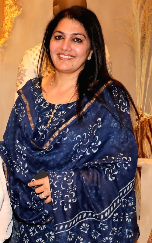 Indian Revenue Service (IRS) officer Manpreet Arya at the launch of a designer store, in Mumbai on July 21, 2018.