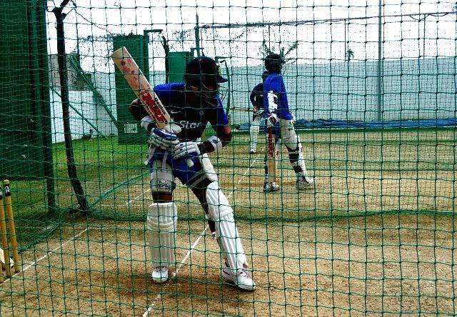 Indian Test captain Virat Kohli during a practice session at Kingston, Jamaica July 31, 2016. - Virat Kohli