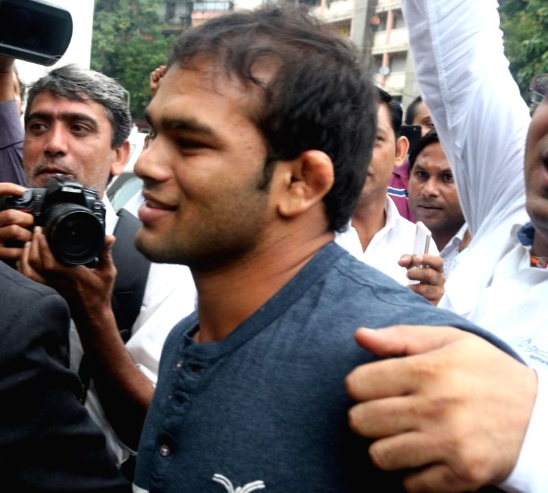 Indian wrestler Narsingh Pancham Yadav. (File Photo: IANS) - Narsingh Pancham Yadav