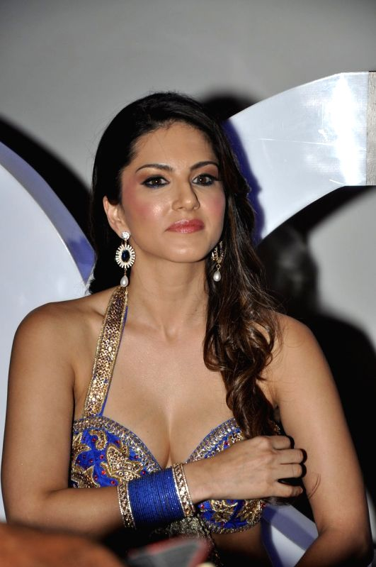 Indo-Canadian porn actress turned Bollywood actress Sunny Leone ...