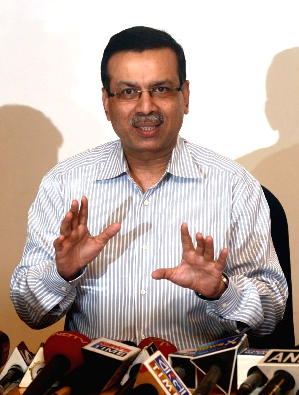 Industrialist and owner of the newly bought Pune IPL franchise Sanjiv Goenka during a press conference in Kolkata on Dec 8, 2015.