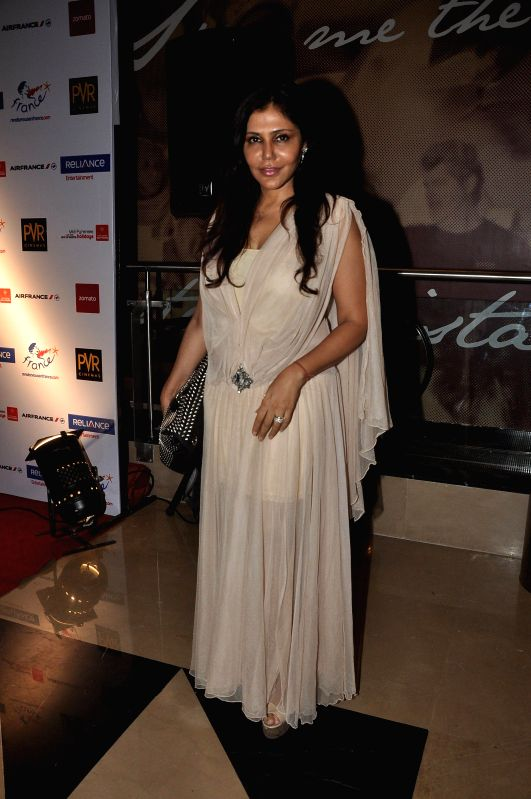 Interior architect designer Nisha Jamwal during the screening of Hollywood film The Hundred-Foot Journey in Mumbai on August 7, 2014.