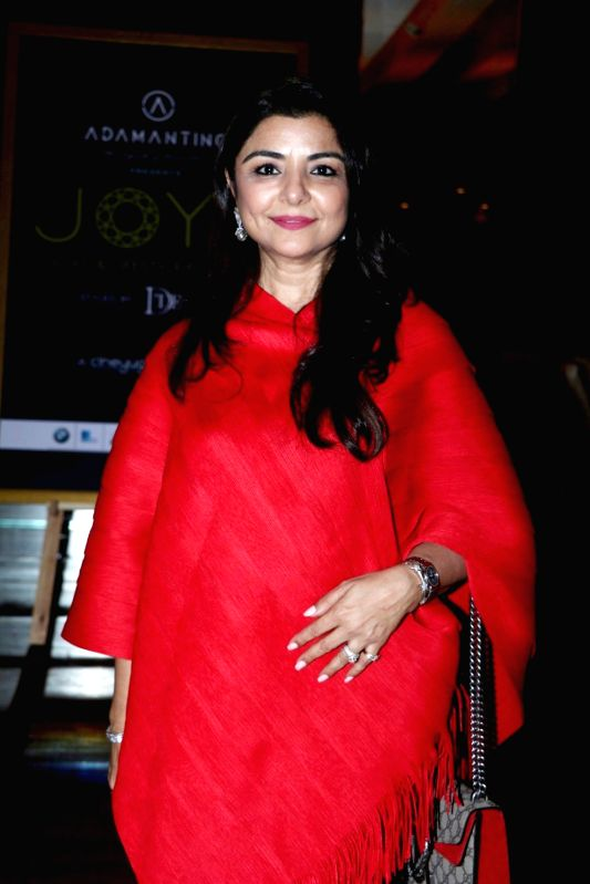 Interior Designer Yasmin Morani during the announcement of Cineyug's first edition of luxury and lifestyle exhibition Joya curated by Yasmin Morani and Priyanka Soorma, in Mumbai, on Aug. 8, ...