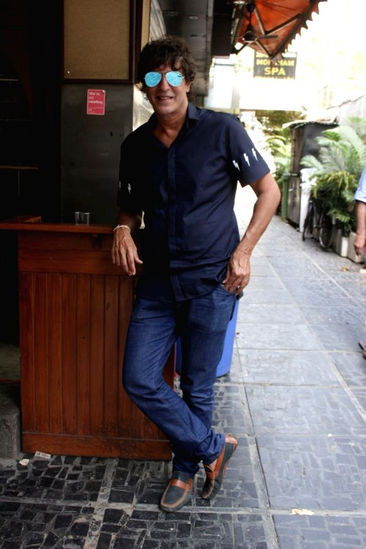 Interview for film Begum Jaan with Chunky Pandey in Mumbai on April 18, 2017. - Pandey