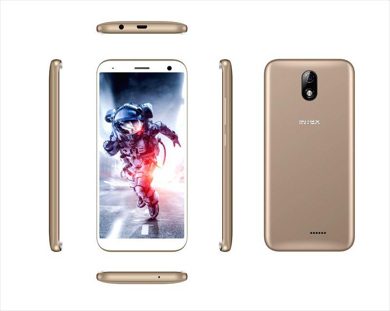 Intex INFIE 3 smartphone.