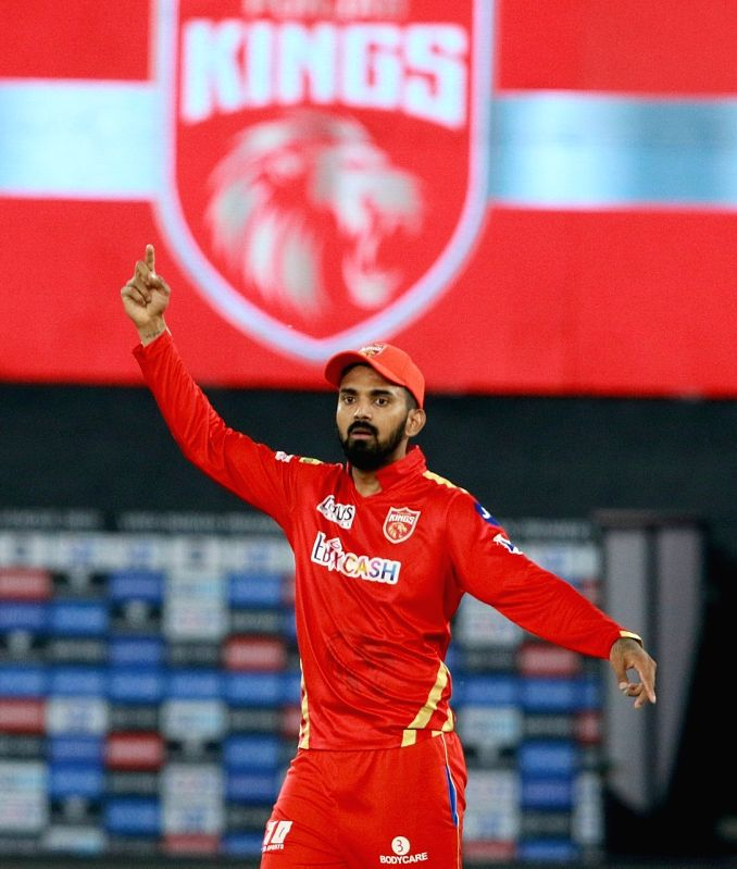 IPL 2021: Hope the TRP is up due to Punjab Kings, says KL Rahul.(photo:IPL/ Not for sale)