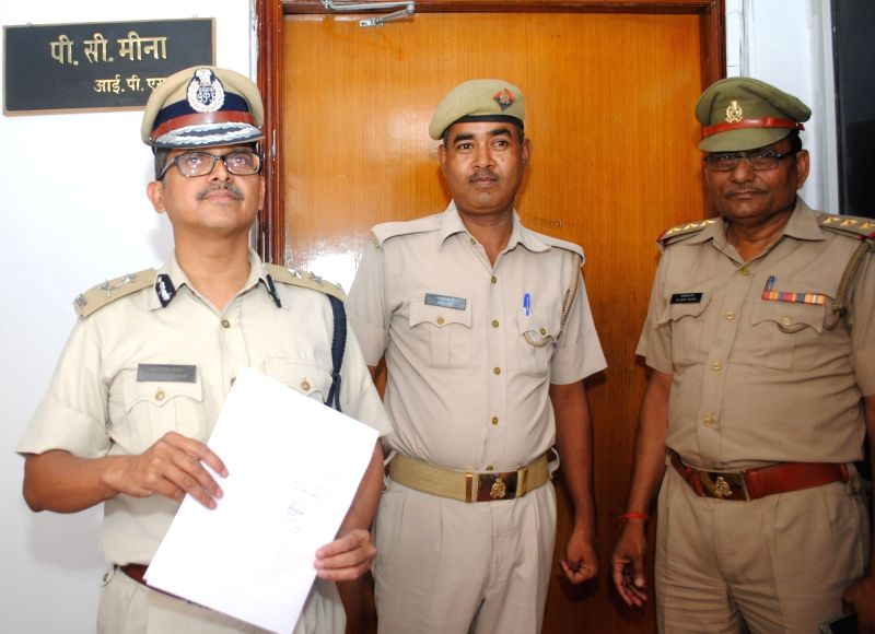 IPS officer Amitabh Thakur who joined the service by reporting at the office of the director general of police (DGP) after Uttar Pradesh government reinstated him on 11th March 2016 after 10 ...