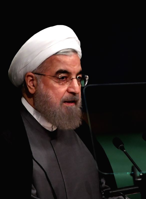 Iran President Hassan Rouhani. (File Photo: IANS)