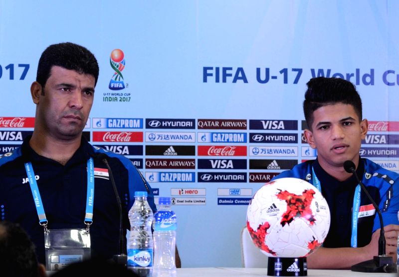 FIFA U17 World Cup 2017 - Iraq - press conference - Saif Khalid