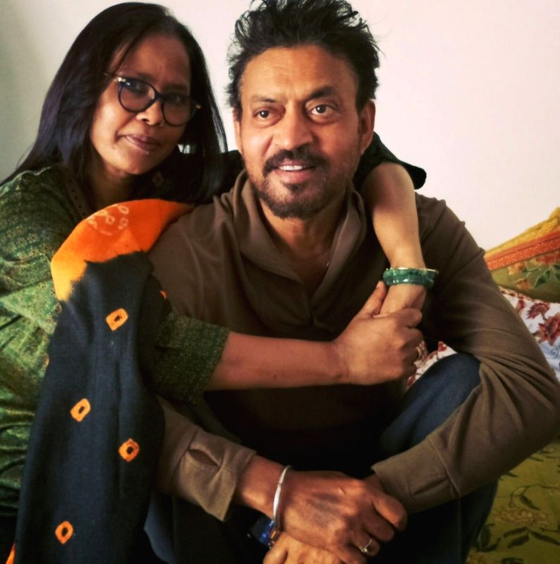Irrfan Khan wanted to have a daughter, reveals wife.