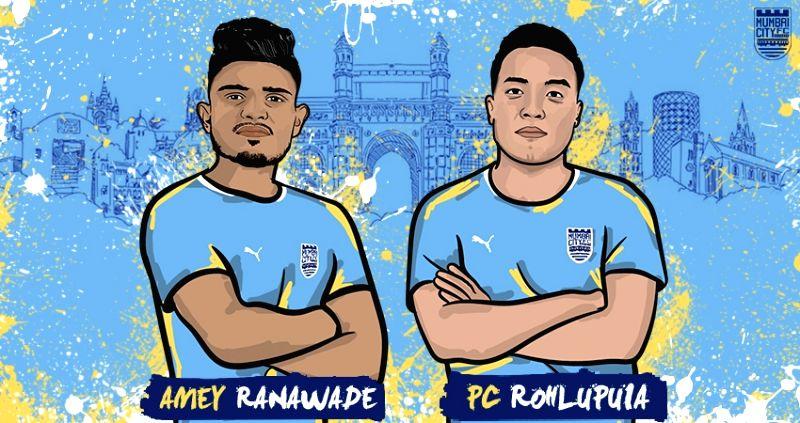 ISL: Mumbai City FC sign young duo of Ranawade & Rohlupuia.