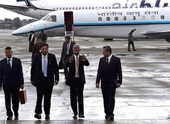 Foreign Secretary S Jaishankar arrives in Islamabad, Pakistan for Foreign Secretary level talks on March 2, 2015.