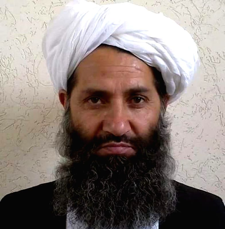 ISLAMABAD, May 25, 2016 - Undated photo released by Afghan Islamic Press (AIP), a Pakistan-based Afghan news agency, on May 25, 2016 to local media shows the new leader of Afghan Taliban Maulvi ...