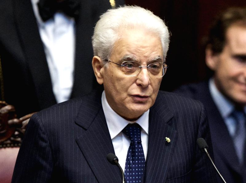 Italy President Sergio Mattarella. (File Photo: IANS)