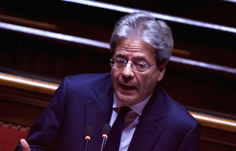 Italy Prime Minister Paolo Gentiloni. (File Photo: IANS) - Paolo Gentiloni