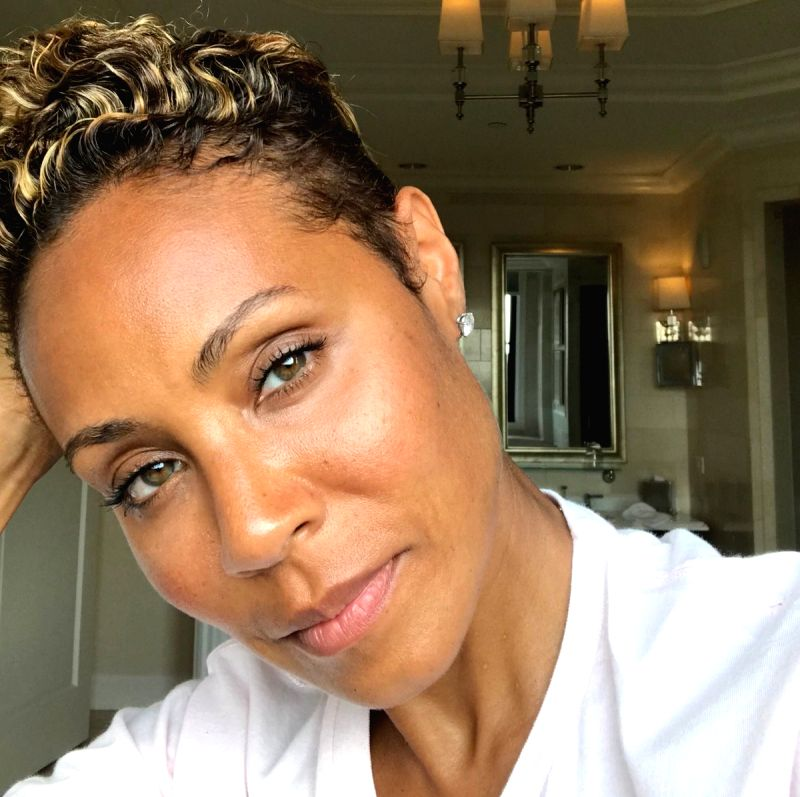 : Jada Pinkett Smith. (Photo: Twitter/@jadapsmith).(Image Source: IANS)