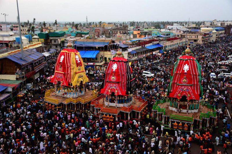 Jagannath Rath Yatra. (File Photo: IANS)