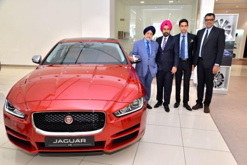 Jaguar Land Rover India Ltd (JLRIL) Managing Director Rohit Suri at the launch of new store in New Delhi on June 3, 2017. - Rohit Suri