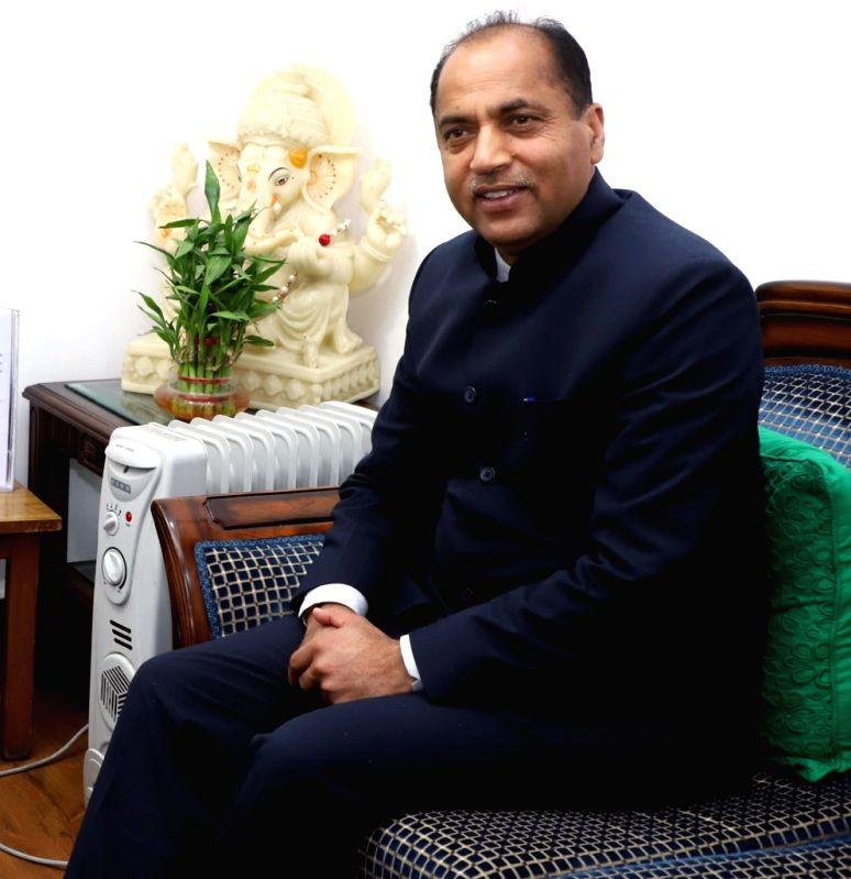 Jai Ram Thakur. (Image Source: IANS)