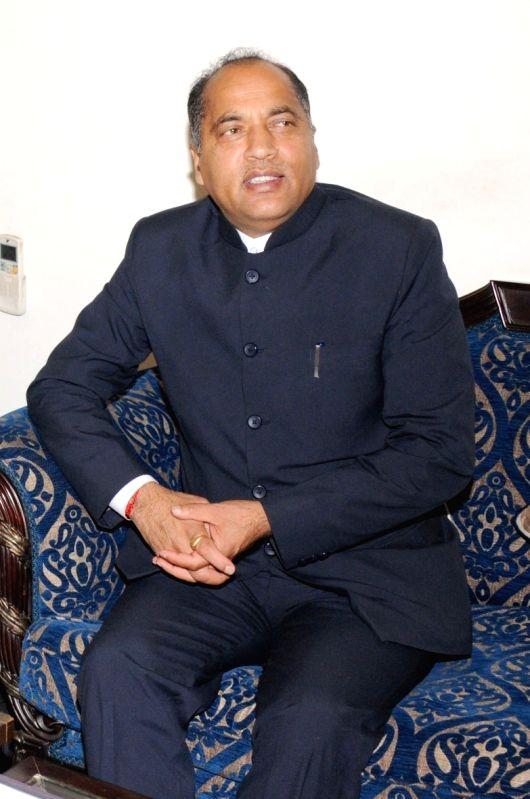 Jai Ram Thakur. (File Photo: IANS)