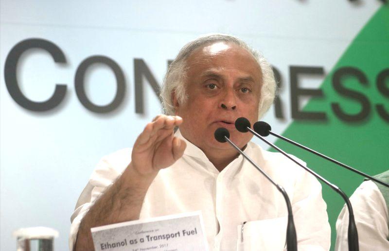 Jairam Ramesh. (File Photo: IANS)
