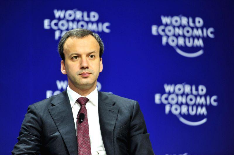 Russian Deputy Prime Minister Arkady Dvorkovich attends the plenary session of the World Economic Forum on East Asia 2015 in Jakarta on April 20, 2015. ... - Arkady Dvorkovich