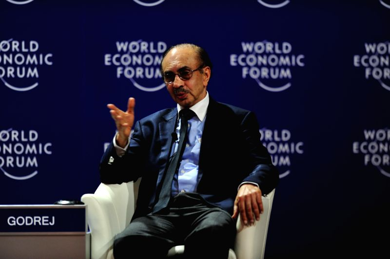 Chairman of the Godrej Group of India, Adi B. Godrej attends the World Economic Forum on East Asia 2015 in Jakarta, Indonesia, April 21, 2015. ...