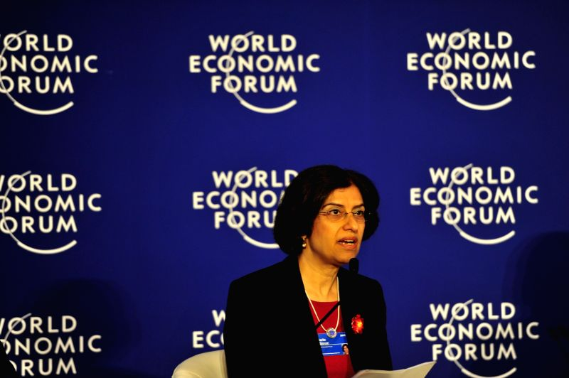 Managing Director of the World Economic Forum USA Sarita Nayyar attends the World Economic Forum on East Asia 2015 in Jakarta, Indonesia, April 21, 2015. ...