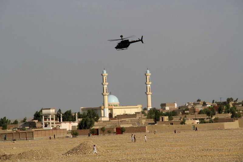 Six foreign soldiers and an Afghan translator were wounded in a suicide bombing in Jalalabad city, eastern Afghanistan, on Sunday, Aug. 24, 2014, a provincial ...