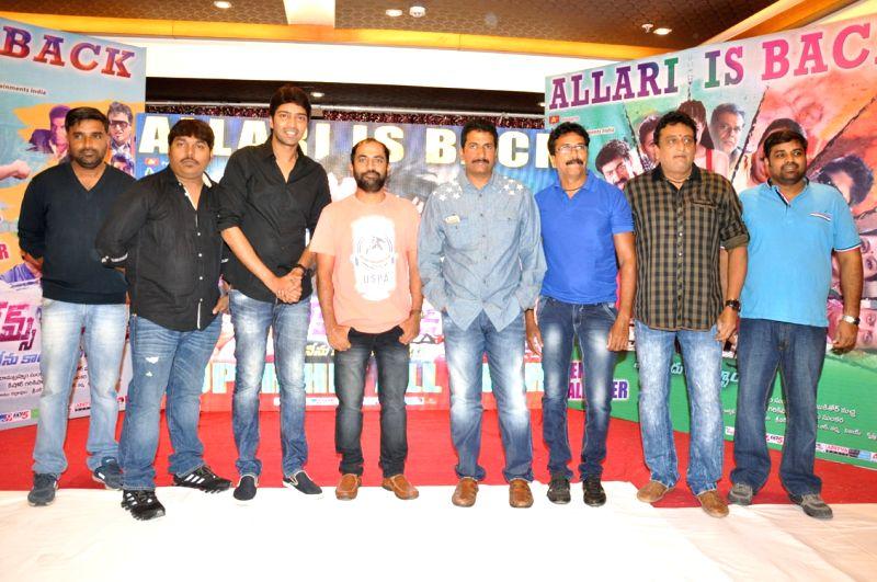 James Bond film Success meet at Film Nagar Cultural Centre (FNCC) in Hyderbad.