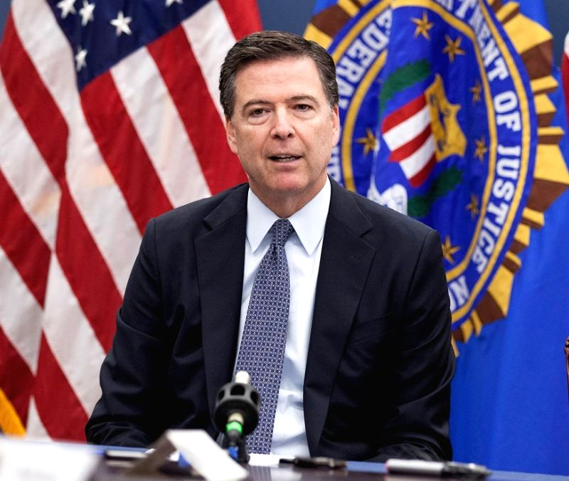 James Comey was fired by President Donald Trump from his position as the director of the Federal Bureau of Investigation on Tuesday, May 5, 2017. (Photo credit: FBI/via IANS)