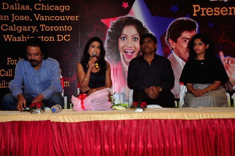 Jamie Lever, Johny Lever ,Ritu Rastogi and Supritam Sen (2)