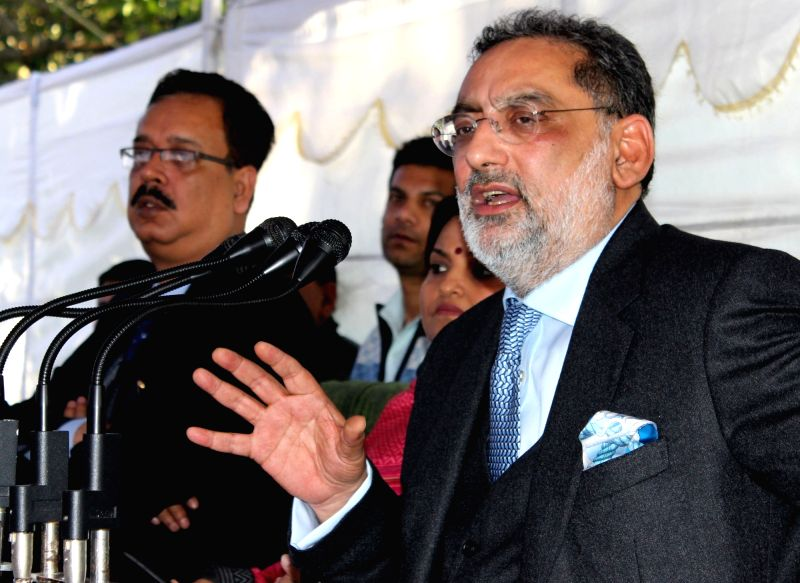 J&K Finance Minister's press conference - Haseeb Drabu