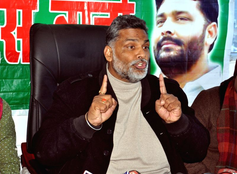 Pappu Yadav's press conference - Pappu Yadav