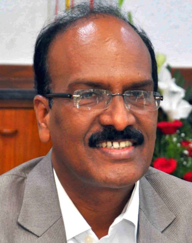 Janardhan Reddy the new commissioner of Greater Hyderabad Municipal Corporation GHMC in Hyderabad on Oct 31, 2015.