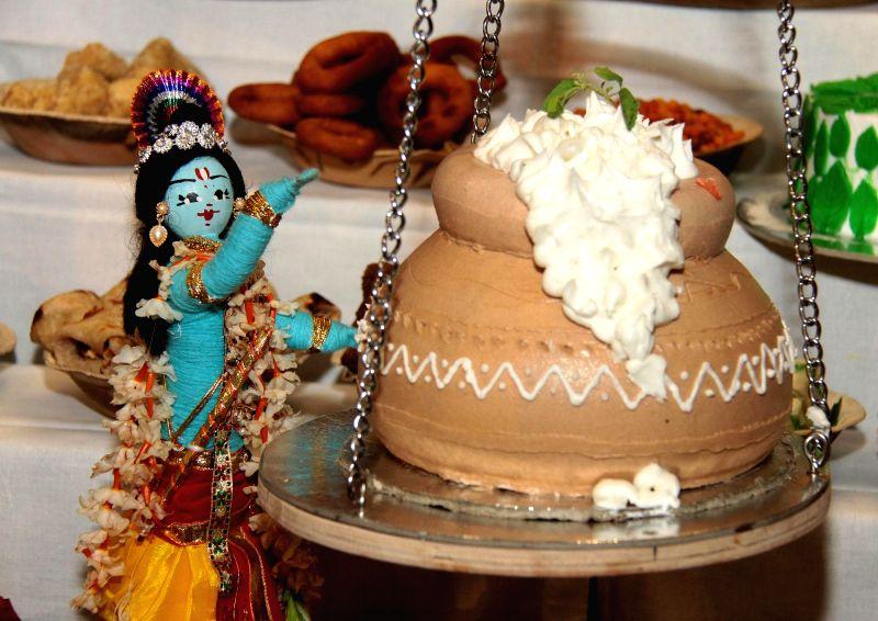 Janmashtami celebration at ISKCON Temple