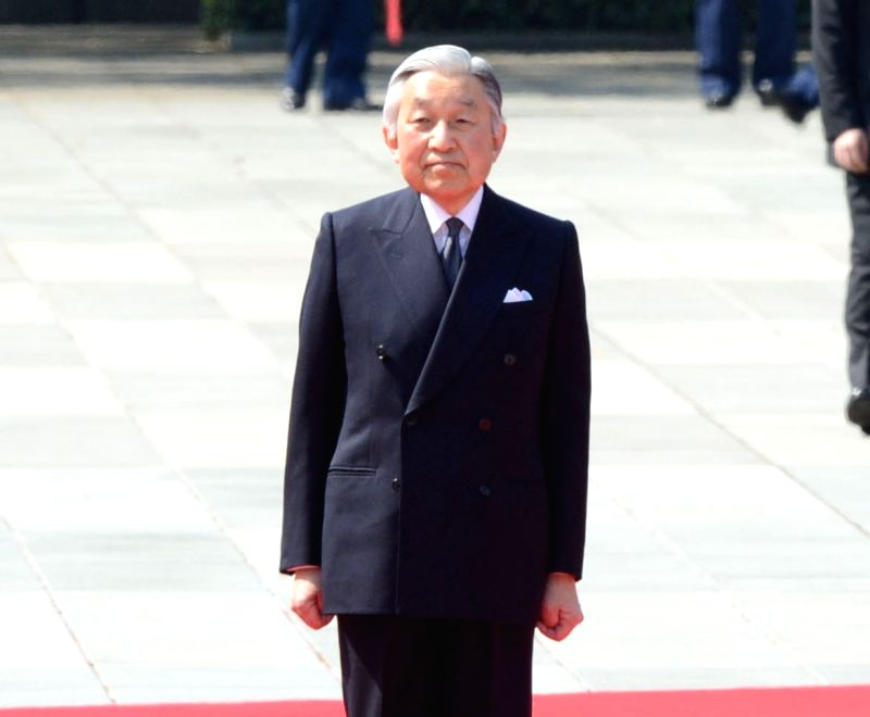 Japan Emperor Akihito. (File Photo: IANS)
