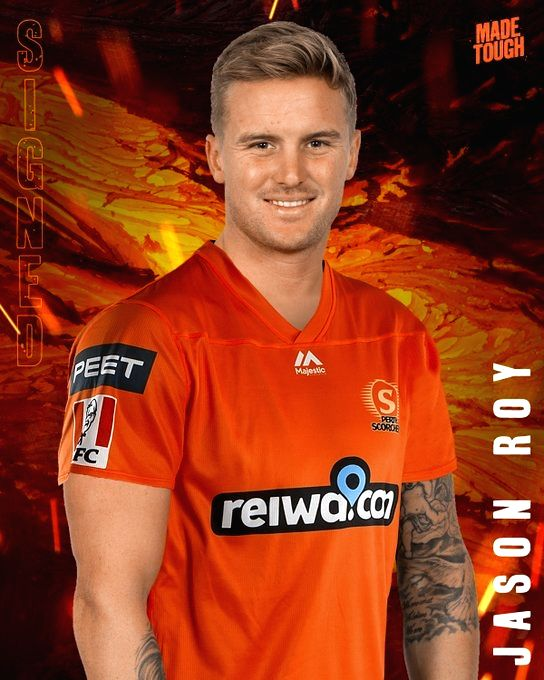 Jason Roy signs up with Perth Scorchers for BBL 10.