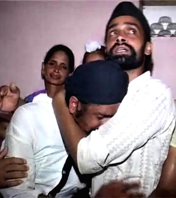 Jaswant Singh, who worked in Iraq returns to his home at Batala near Amritsar on June 21, 2014.