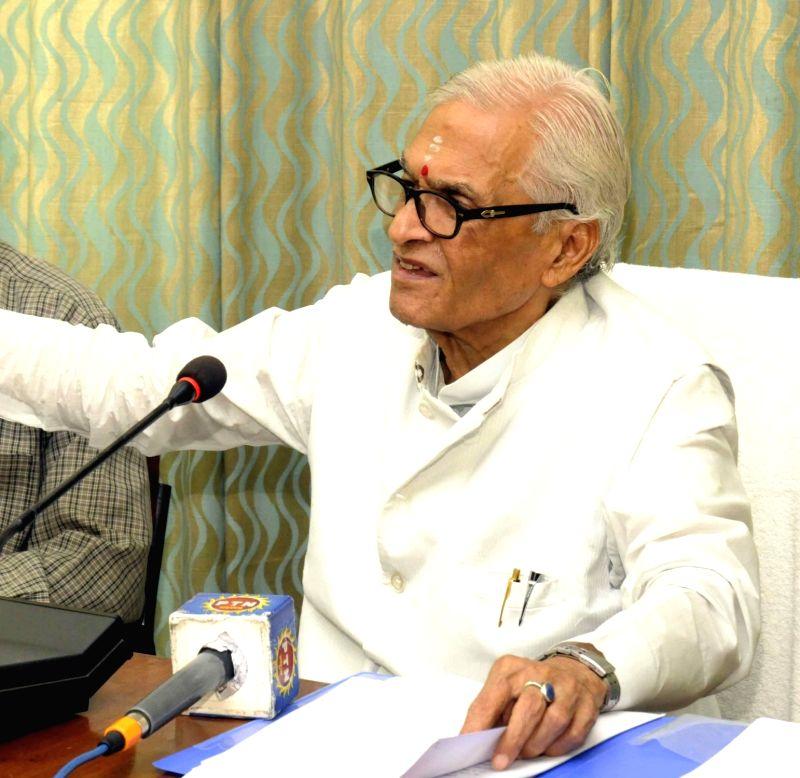 JD(U) leader and former Bihar Chief Minister Jagannath Mishra. (File Photo: IANS) - Jagannath Mishra