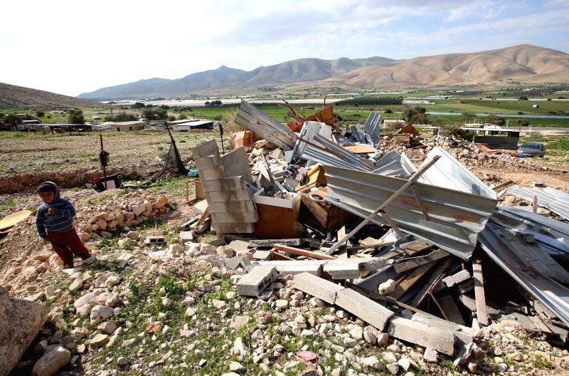Mideast jericho house demolish for Jericho house