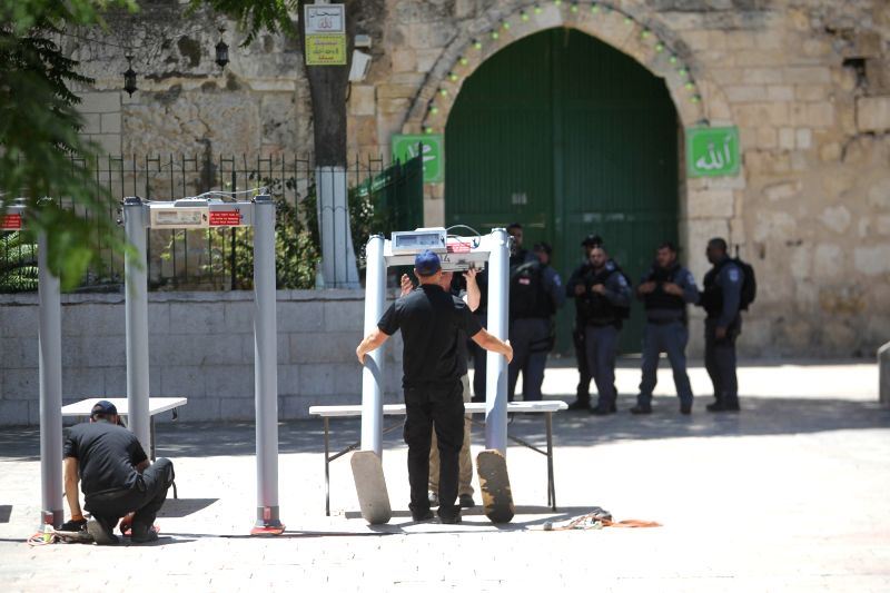 Palestinian Sources: Efforts to Re-open Al Aqsa Mosque