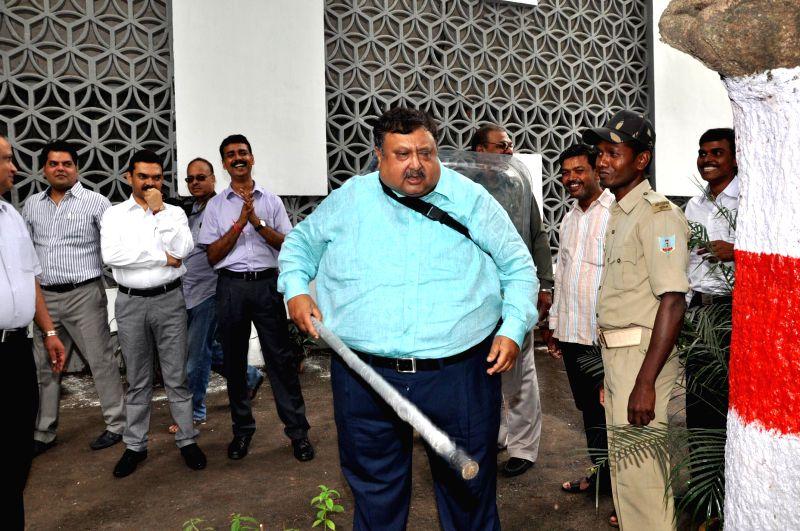 Jharkhand Chief Secretary Sajal Chakraborty at Jharkhand Legislative Assembly in Ranchi on August 1, 2014.