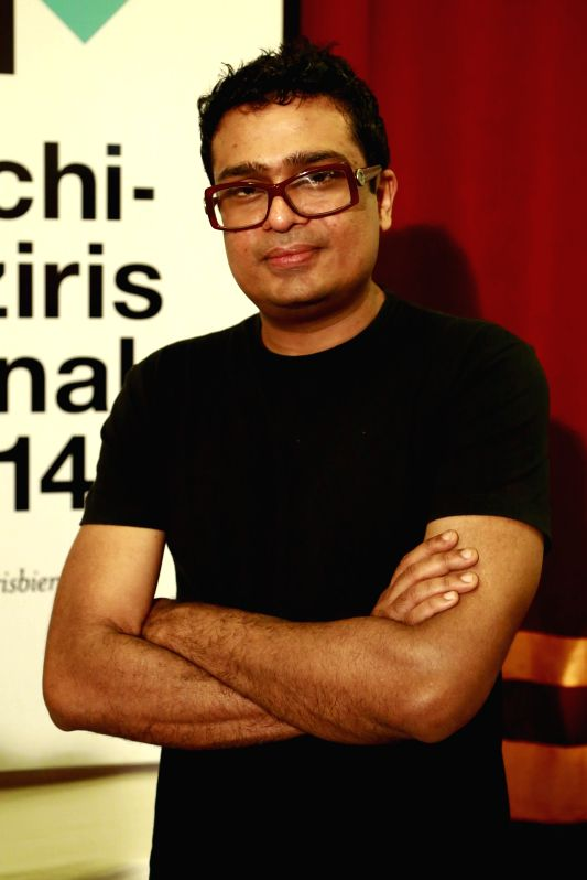: Jitish Kallat, the curator for the 2014 edition of the Kochi-Muziris biennale in Kochi on Nov.15, 2013. (Photo: IANS).