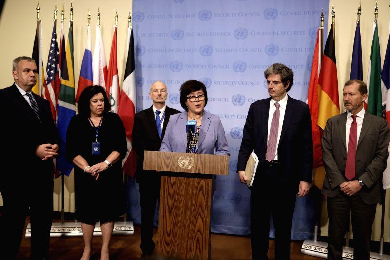 Joanna Wronecka (front). (Xinhua/IANS)