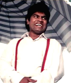 Johnny Lever as \'Babulal\' in Baazigar