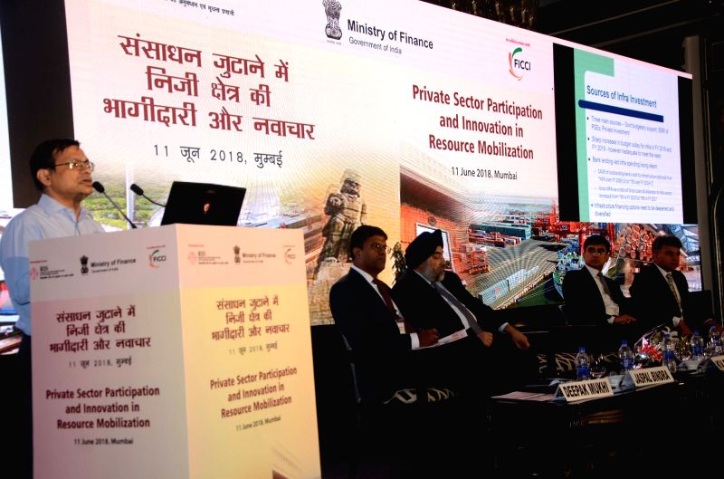 "Joint Secretary (Infrastructure Policy and Finance) at Ministry of Finance in the Government of India Kumar V Pratap addresses during 8th Thematic Seminar on ""Private Sector ... - Kumar V Pratap"